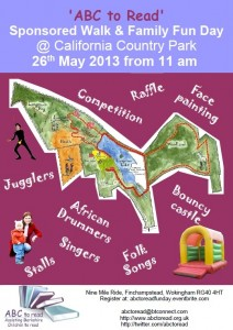Poster ABC to Read Fun Day 26 May